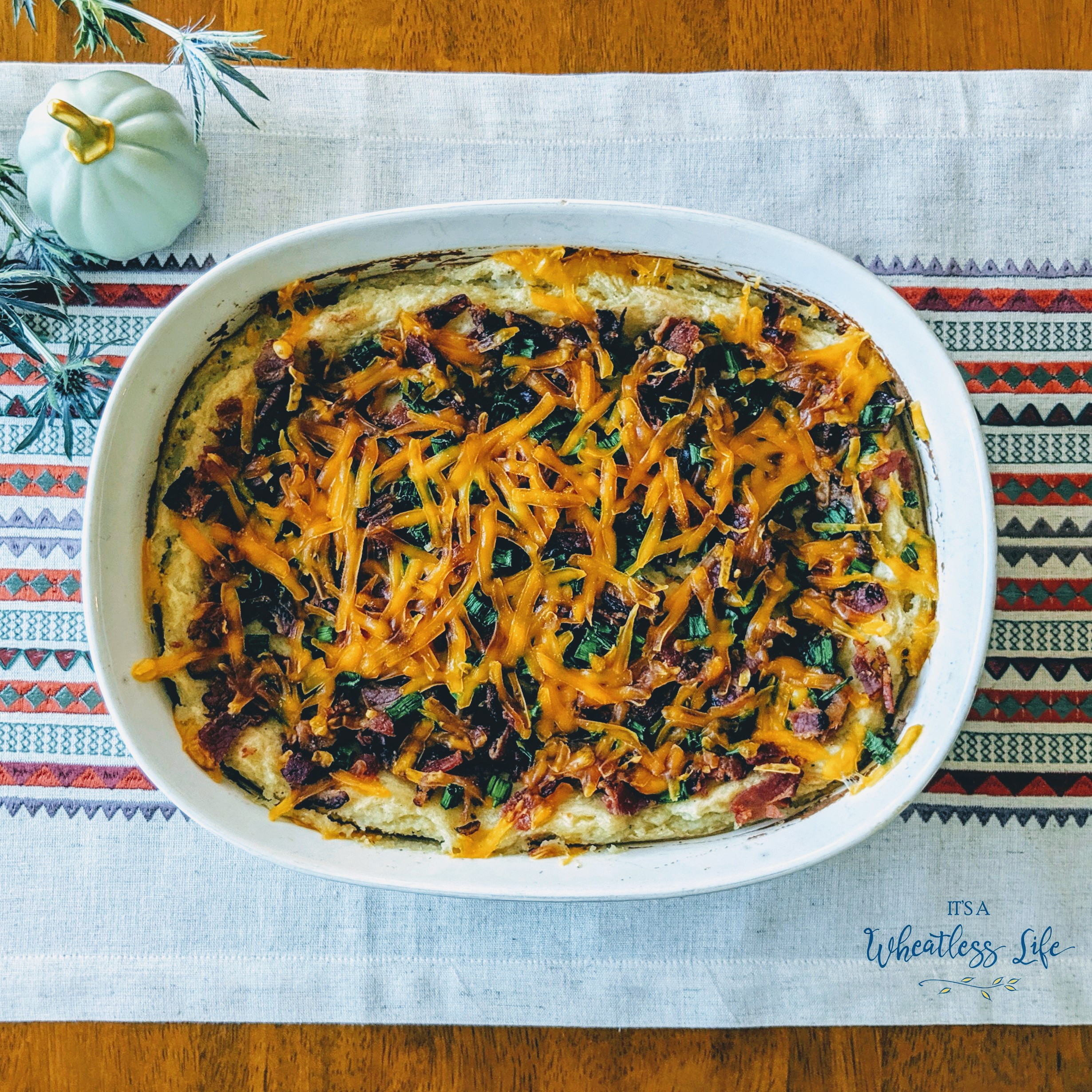 Dairy-Free Loaded Mashed Potatoes